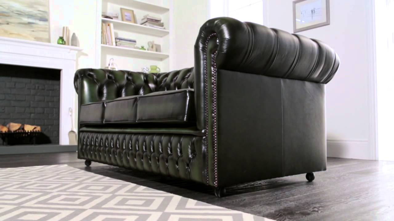 ellington chesterfield sofa from sofas by saxon youtube. Black Bedroom Furniture Sets. Home Design Ideas
