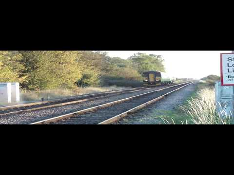 Peterborough to Lincoln Line Near Little London 22.10.2011 Part 2/2