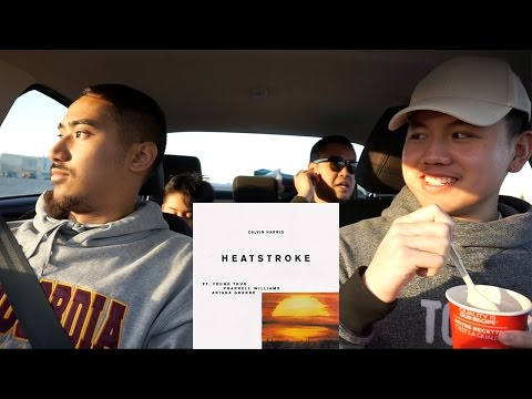 Calvin Harris  Heatstroke ft Young Thug, Pharrell Williams, Ariana Grande  REACTION