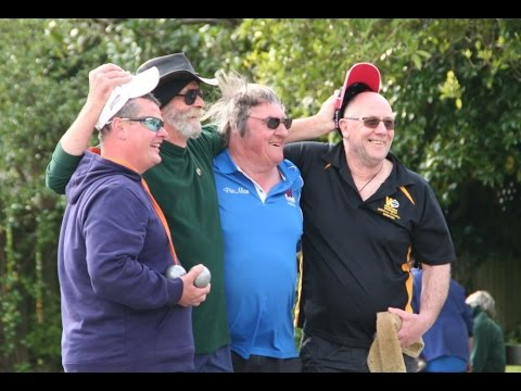Wellington Petanque Regional Doubles final 2016