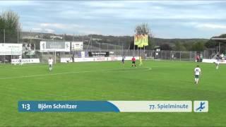 SV Schalding Heining - Viktoria Aschaffenburg (Regionalliga Bayern 15/16, 11. Spieltag)