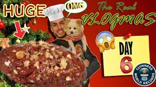 The Real Vlogmas Day 6🍪: Φτιάχνω το μεγαλύτερο μελομακάρονο GWR | Tsede The Real
