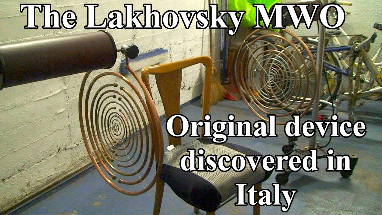 Original Lakhovsky Multiple Wave Oscillator found in Italy!