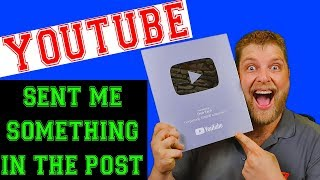 YouTube Sent Me Something In The Post     Plus Some Sad News     Plus a Huge Giveaway