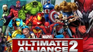 Marvel Ultimate Alliance 2/PS4/All Characters & Skins