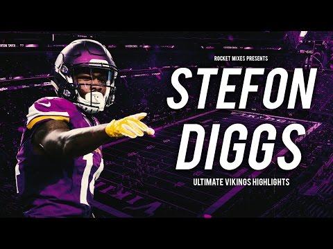 Stefon Diggs - Vikings WR    NFL Career Highlights