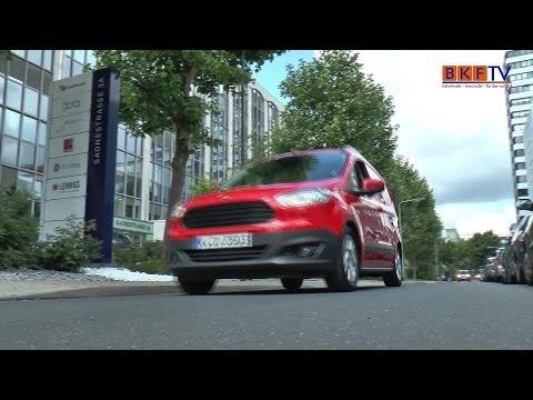 Premiere FORD Transit Courier 2014 - BKF TV Reportage aus Frankfurt