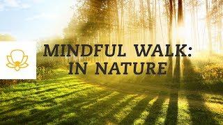 Walking Mindfulness Meditation - For Hiking or Walking In Nature