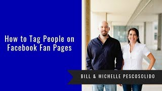 How to Tag People on Facebook Fan Pages