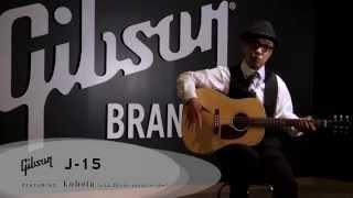 週刊ギブソンVol.60〜kubota(ジルデコ)が弾く! Gibson Acoustic J-15 ギブソン 検索動画 32