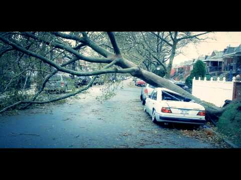 Hurricane Sandy  -Canarsie, Brooklyn USA  -Dir/Filmed/Edited Rennie RenWah