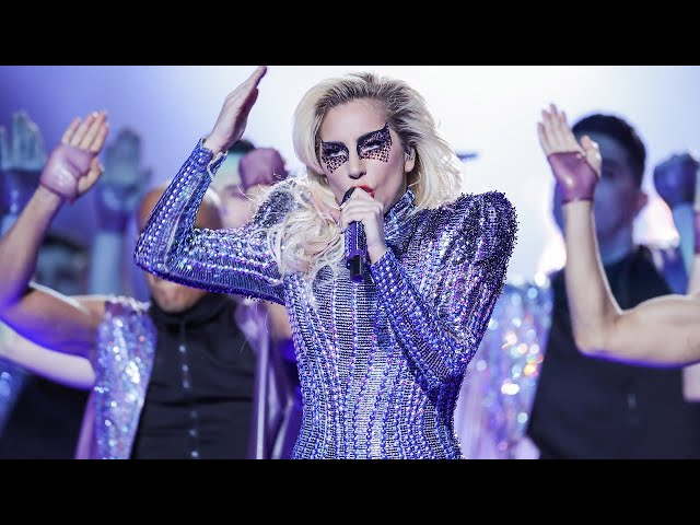 Increíble actuación de Lady Gaga en el medio tiempo de la Super Bowl