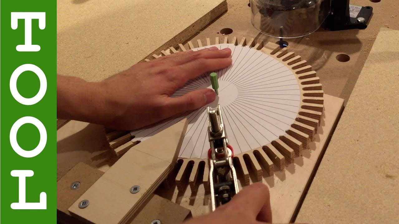 How To Make Wooden Gears With A Router Youtube