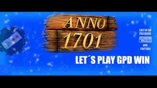 GPD WIN - ANNO 1701 720p Fullscreen gameplay