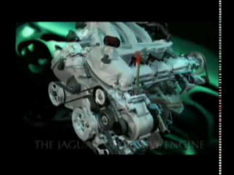 Jaguar AJ V6 engine promotional film