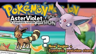 Pokemon Aster Violet, Iris Purple and Rose Pink - Completed Game for PC with NEW Regions   Download