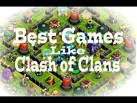 Top12 Best Games Like Clash Of Clans | ONLINE &  OFFLINE 2018 !!!