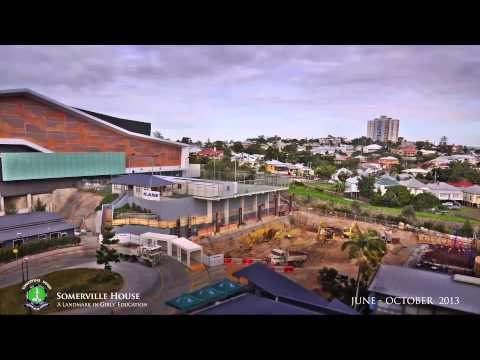 Somerville House Construction Video - October 2013