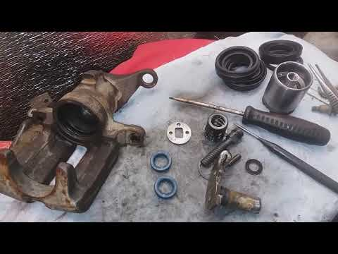 Repair The Parking Brake Audi 100 C4