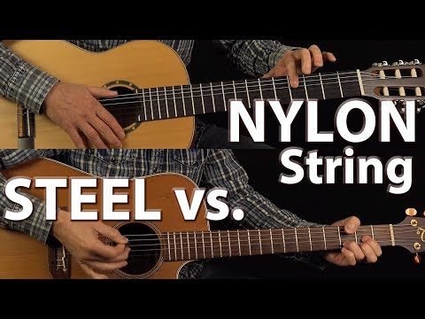 Steel Vs. Nylon String Guitars