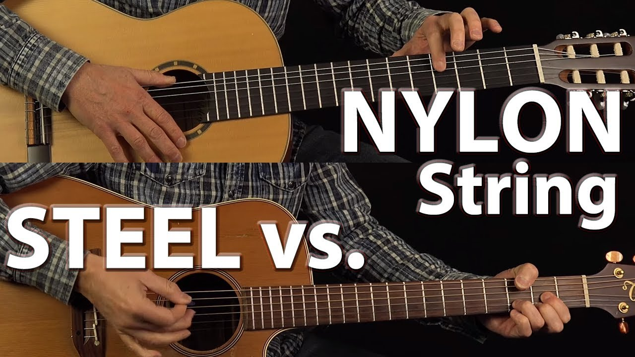 steel vs nylon string guitars youtube. Black Bedroom Furniture Sets. Home Design Ideas