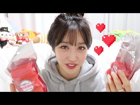 Korean Haul | Contact Lenses, Clothes, Makeup & Hair Rollers!