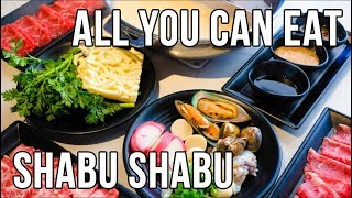 All You Can Eat Japanese Hot Pot! - Broth Shabu Shabu