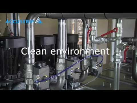 Accustrip full flow central system with chips management