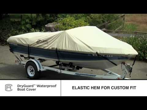 Classic Accessories DryGuard Boat Cover   YouTube Classic Accessories DryGuard Boat Cover