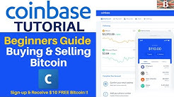 Coinbase Tutorial - How to Buy & Sell Bitcoin on Coinbase