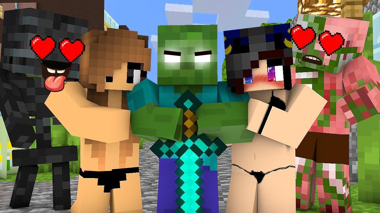Monster School : EPIC ZOMBIE LIFE CHALLENGE - Minecraft Animation