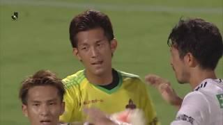 2018年7月4日(水)に行われた明治安田生命J2リーグ 第18節 甲府vs金...