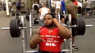 Keven Da Hulk 405lb Pause Bench Press