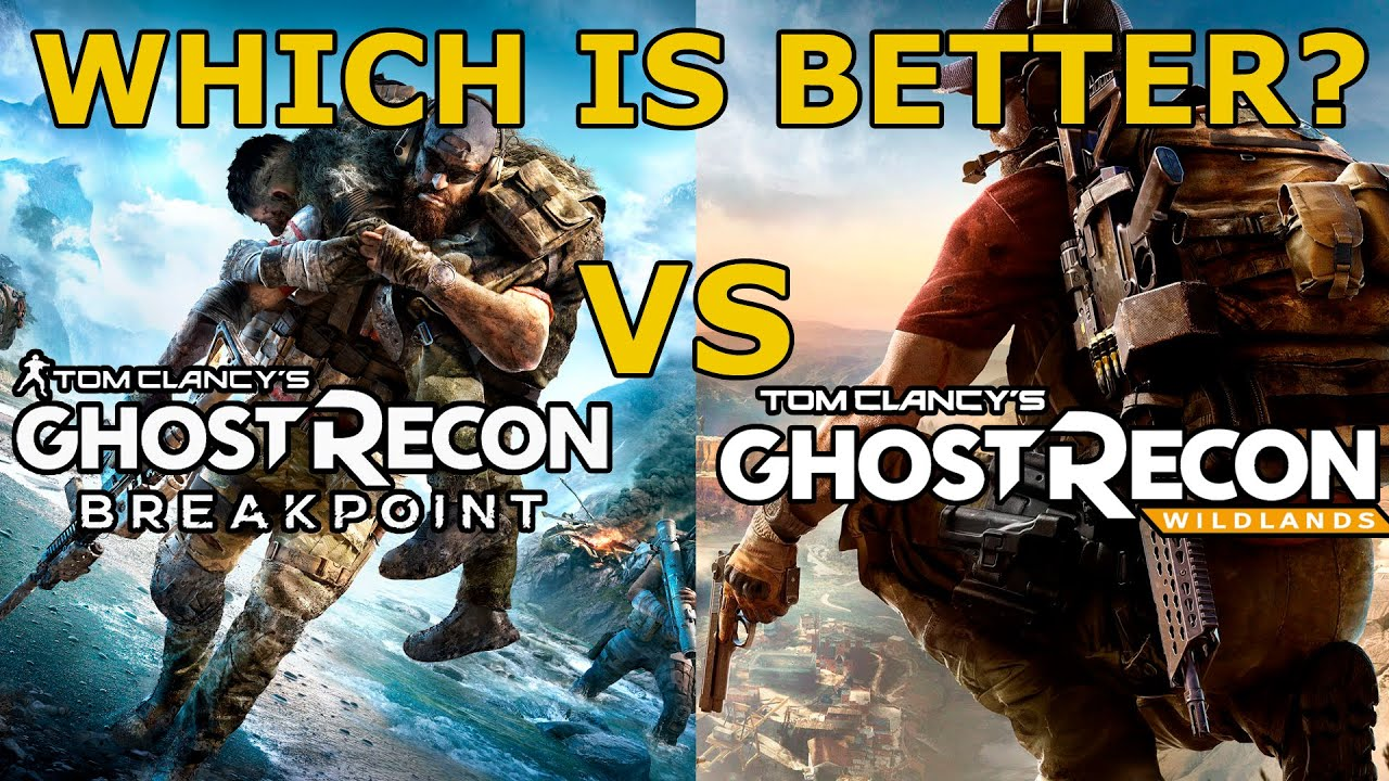 Ghost Recon Breakpoint VS Wildlands 2021|Which Is Better? |Tom Clancys Ghost Recon Comparison