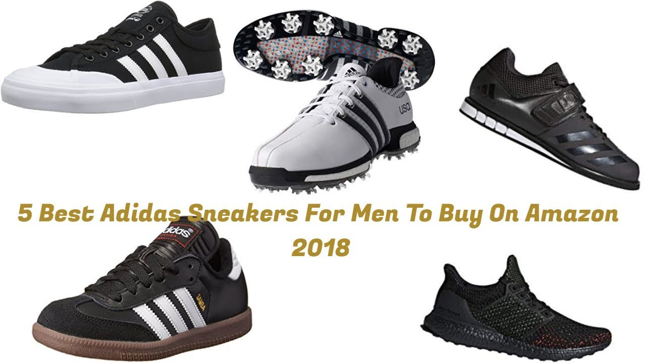 35518057e5098 5 Best Adidas Sneakers For Men To Buy On Amazon 2018
