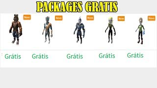 5 NOVAS PACKAGES ANTHRO GRATIS NO ROBLOX