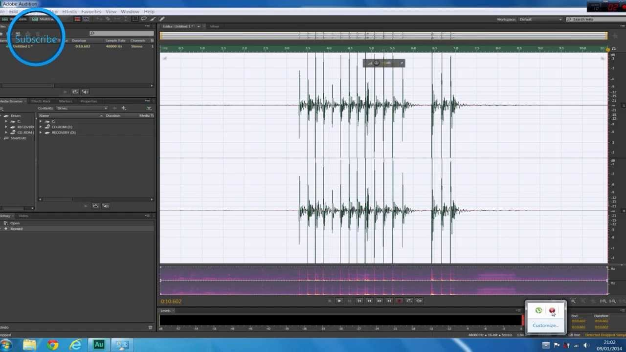 Audition CC Fix Error | Input And Output Sample Rate Does Not ...