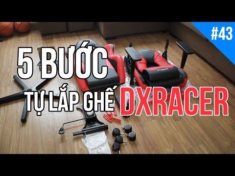 [PLAYZONE TV] Hướng dẫn lắp đặt ghế DXRACER