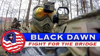 Black Dawn - Fight for the Bridge - Magfed Paintball - Southern Maryland Paintball
