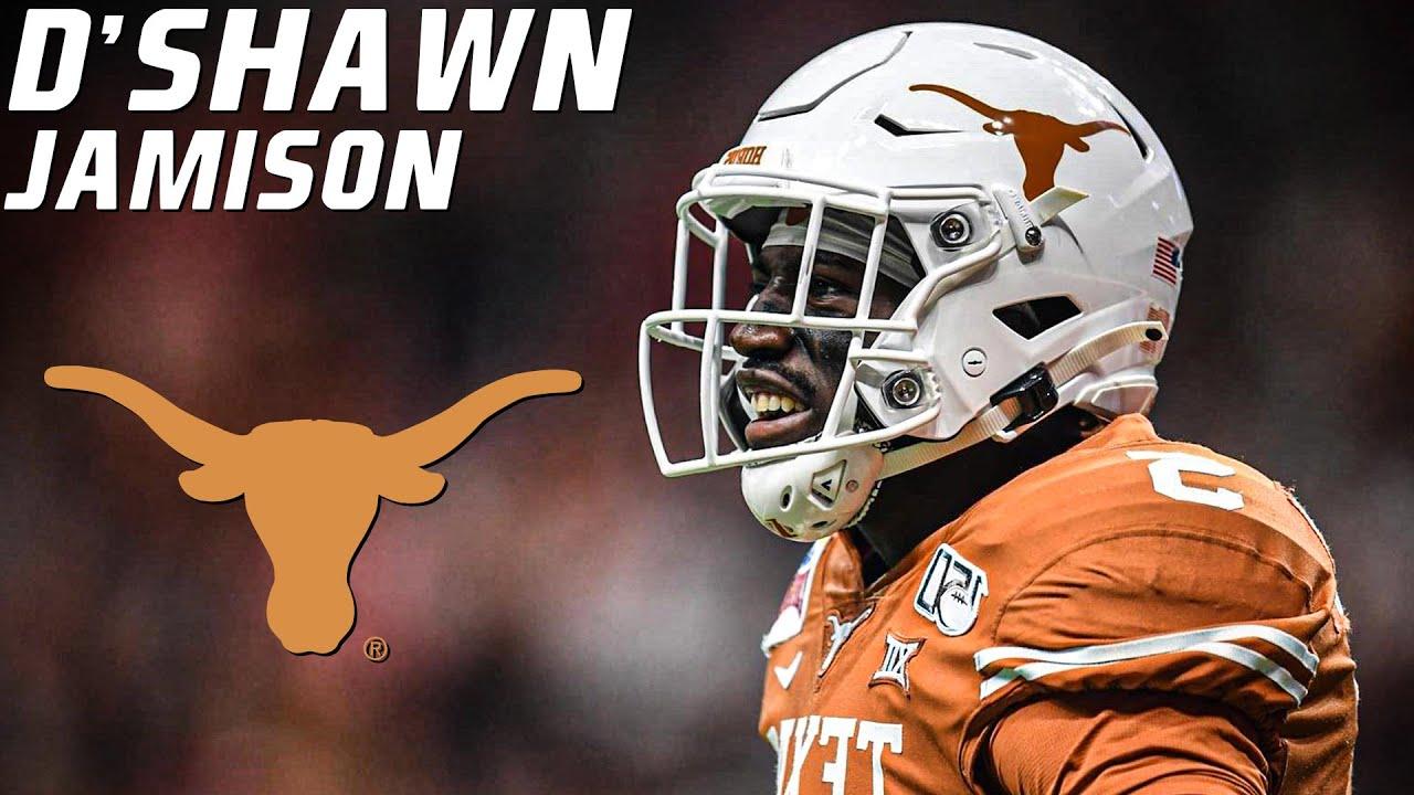 College Football's Next Versatile Superstar   D'Shawn Jamison Texas Highlights ᴴᴰ