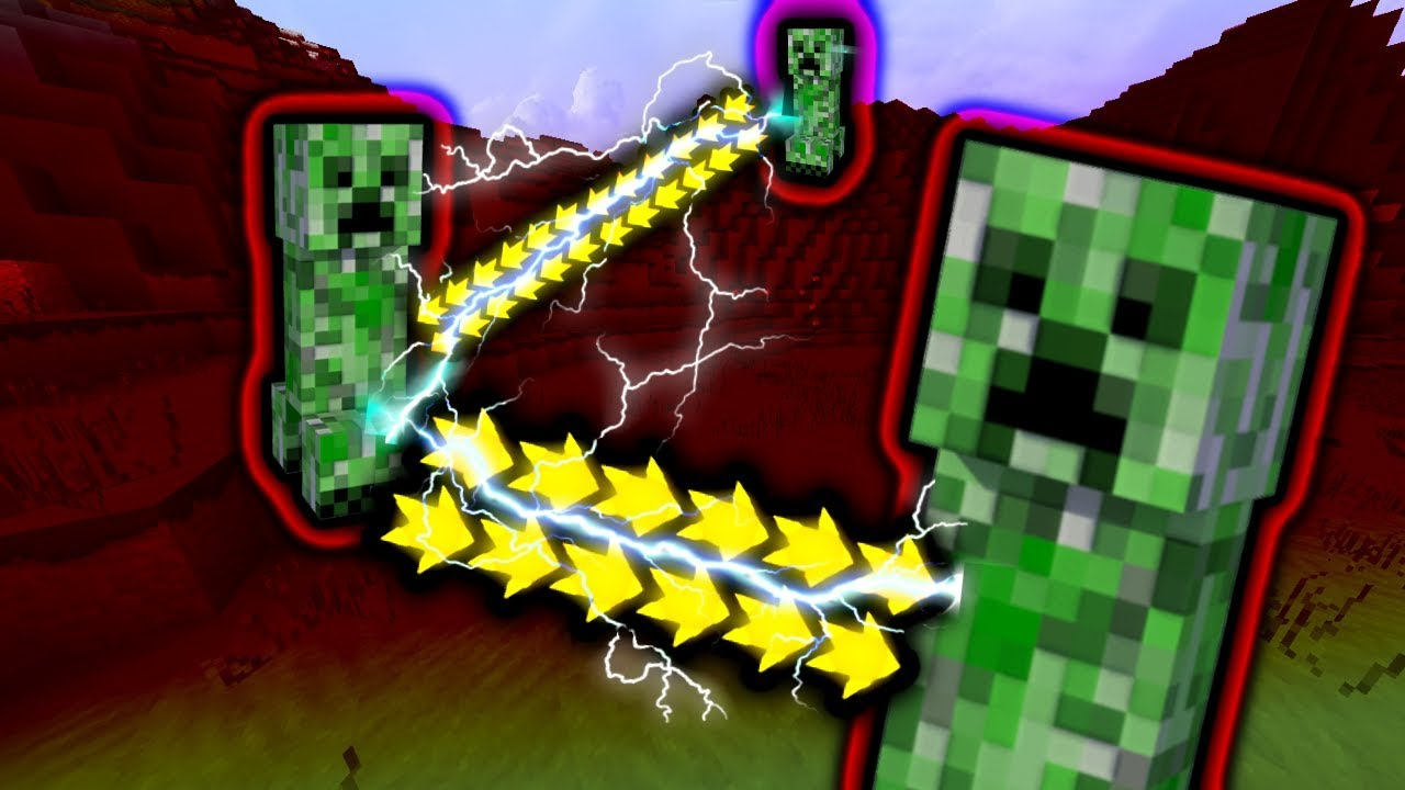 Minecraft Hardcore, but ALL Creepers have SPEED and explode INSTANTLY...