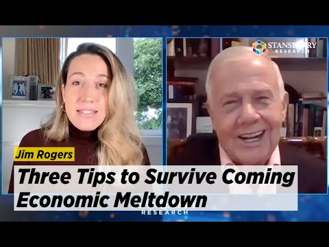 Jim Rogers Shares 3 Tips to Survive Coming Economic Meltdown; Says Gold, Silver Will See Mania