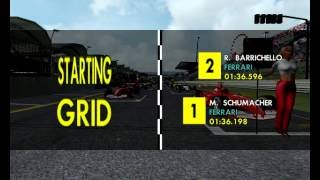Grid walk 2001 Suzuka Japanese Grand Prix Nippon full Race Formula 1 Season Mod F1 Challenge 99 02 game year F1C 2 GP 4 3 World Championship 2013 2014 2015 2016 4 11 09 304
