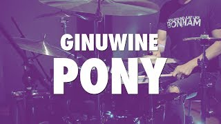 GINUWINE PONY DRUM COVER ADVENTURE DRUMS