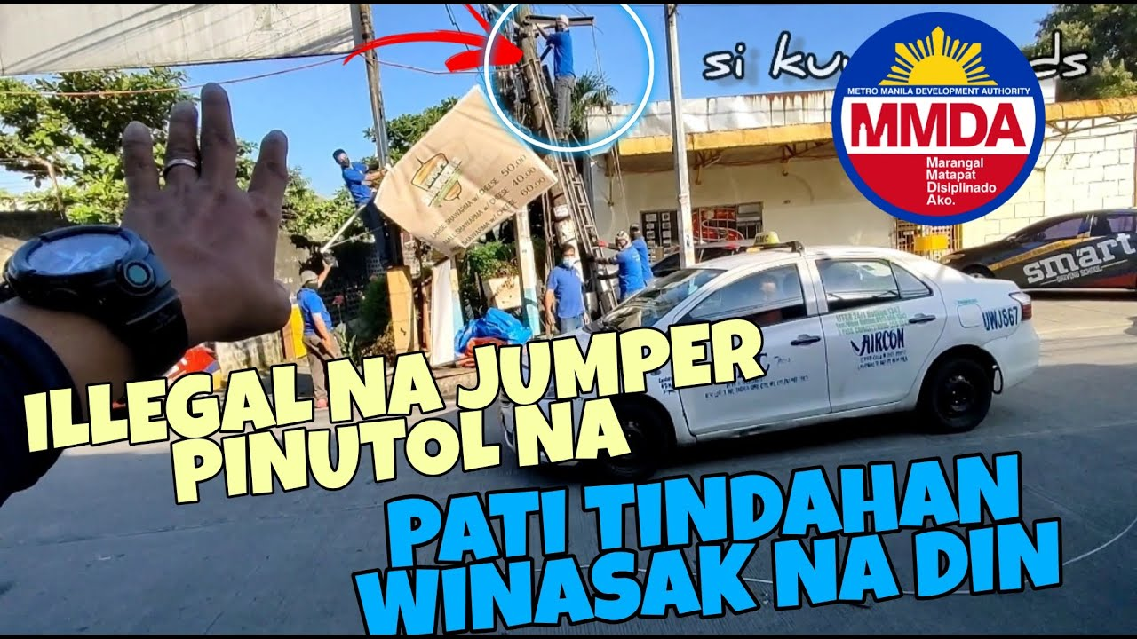 Download SI KUYA HINDI ALAM NA BAWAL MAG LAGAY NG TINDAHAN SA POSTE | MMDA TFSO-SCOG CLEARING OPERATION