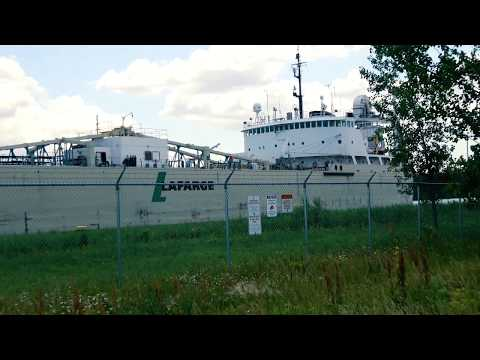 English River Lake Freighter Welland Canal St. Catharines Ontario