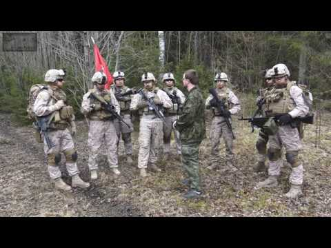 Интервью- USMC airsoft team Estonia