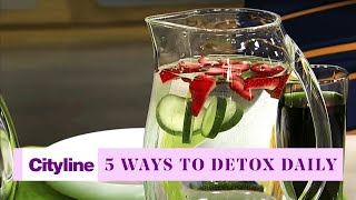 5 gentle ways to naturally detox every day