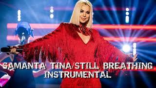 🇱🇻 Samanta Tīna - Still Breathing [INSTRUMENTAL/KARAOKE] | Latvia - Eurovision 2020