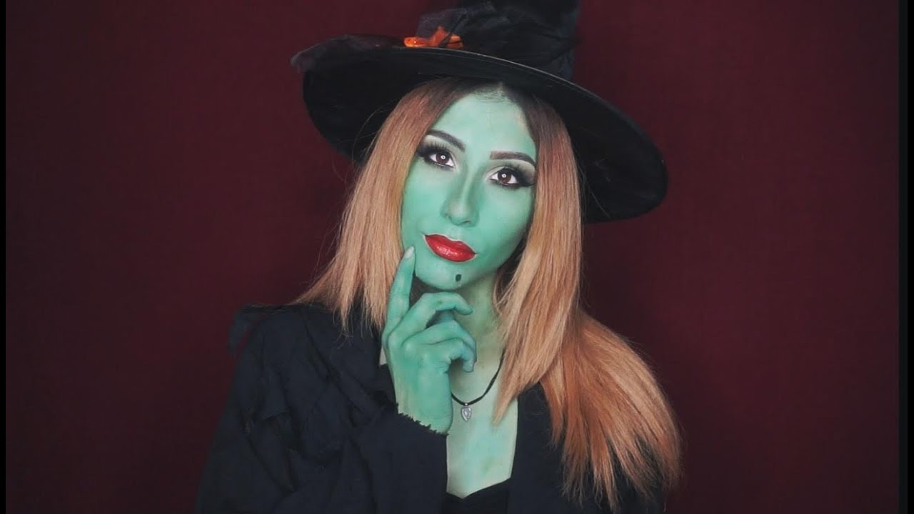 Glam wicked witch halloween makeup tutorial youtube glam wicked witch halloween makeup tutorial baditri Images
